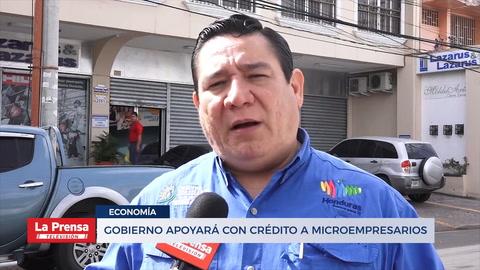 Gobierno apoyará con crédito a microempresarios