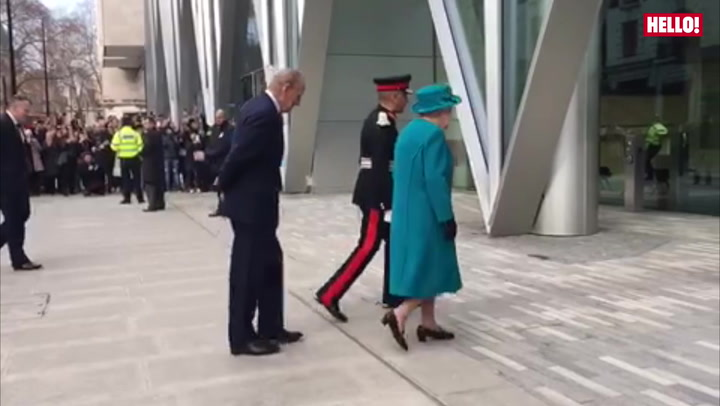 The Queen and Duke of Edinburgh visits National Cyber Security Centre