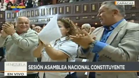 Constituyente de Venezuela asume funciones legislativas