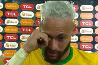¿Por qué lloró Neymar? El brasileño se quebró en una entrevista tras la goleada ante Perú