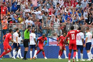 Eufórica celebración de panameños tras gol histórico de Felipe Baloy ante Inglaterra en Rusia 2018