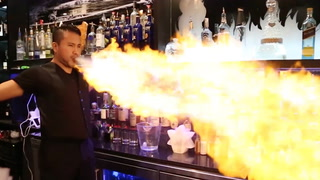 Magic City Bartenders Show Off Magic Tricks