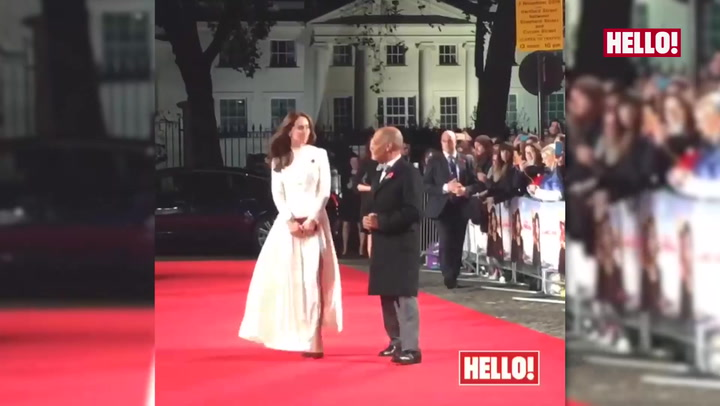 Kate dazzles at A Street Cat Named Bob premiere