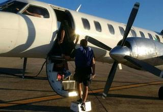 El plantel de Racing se llevó un susto grande en el avión