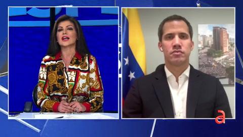Candente entrevista de la periodista Marian de la Fuente con el presidente interino de Venezuela, Juan Guaidó