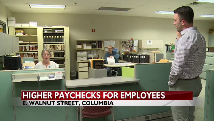 Tax changes mean substantial paycheck boost for Boone County employees