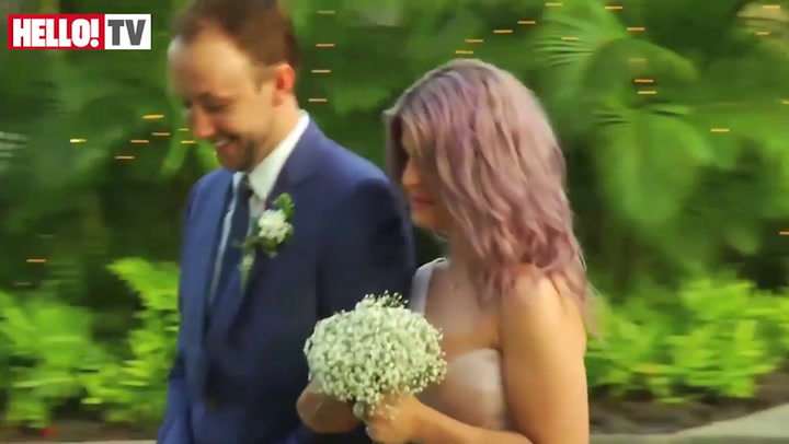 Exclusive video of Jack Osbourne and Lisa Stelly\'s wedding in Hawaii