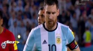 Argentina derrota a Chile con penalti de Lionel Messi