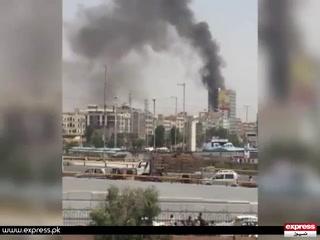 کراچی میں عمارت میں آتشزدگی سے دو افراد جاں بحق، متعدد زخمی