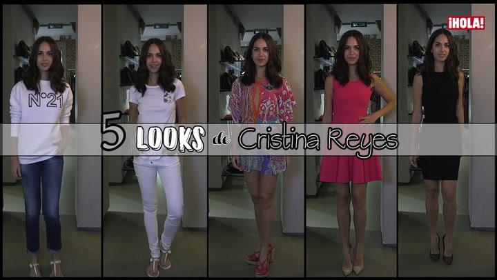 Cinco \'looks\' de la estilista Cristina Reyes para esta temporada