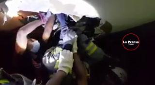 Dramáticos videos de los rescates tras el terremoto en México