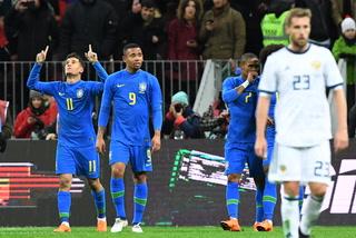 Brasil derrota 3-0 a Rusia e ilusiona con el campeonato mundial