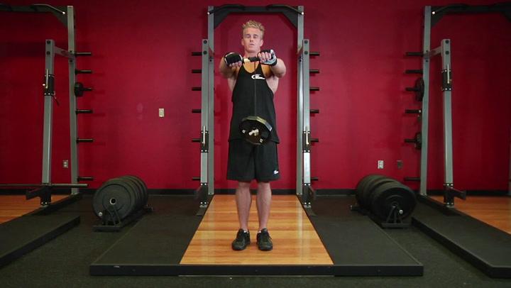 Wrist Roller - Forearm Exercise