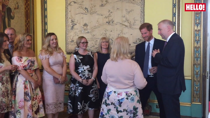 Prince Harry Hosts WellChild Reception
