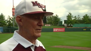 VIDEO: MSU Baseball Alumni Game