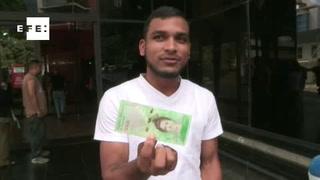 Nuevos billetes comienzan a circular en Venezuela