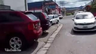 Accidente entre un autobús y un taxi deja seis personas heridas en el bulevar Morazán