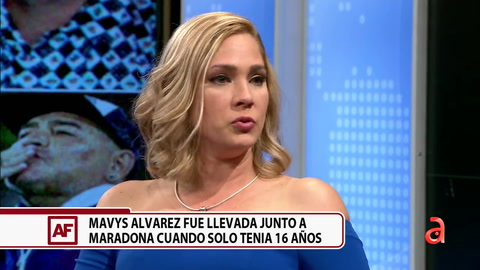 Rompe el silencio la joven cubana que con tan solo 16 años fue mujer  de Maradona