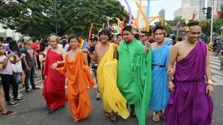 Manila marcha en pro de derechos LGBT