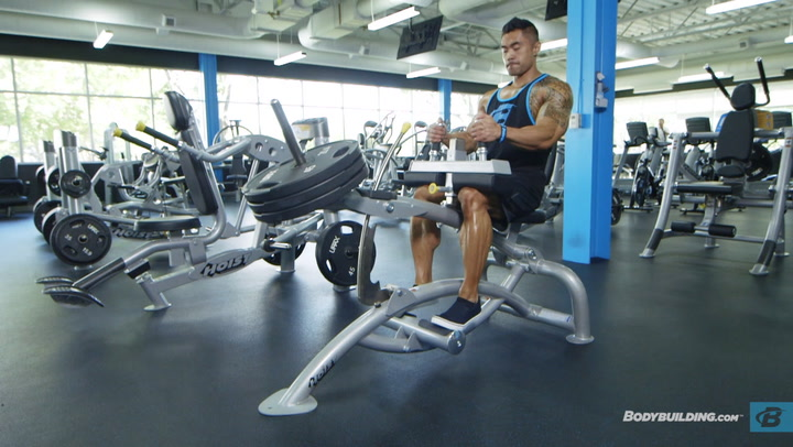 Three-move Calf Workout   IFBB Pro Jake Alvarez