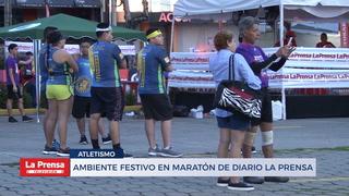 Ambiente festivo en Maratón de Diario LA PRENSA