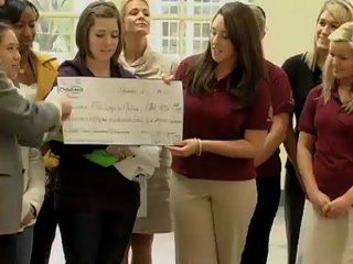 Dance Marathon Donates to College of Medicine