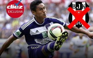 El hondureño Andy Najar no se moverá del Anderlecht