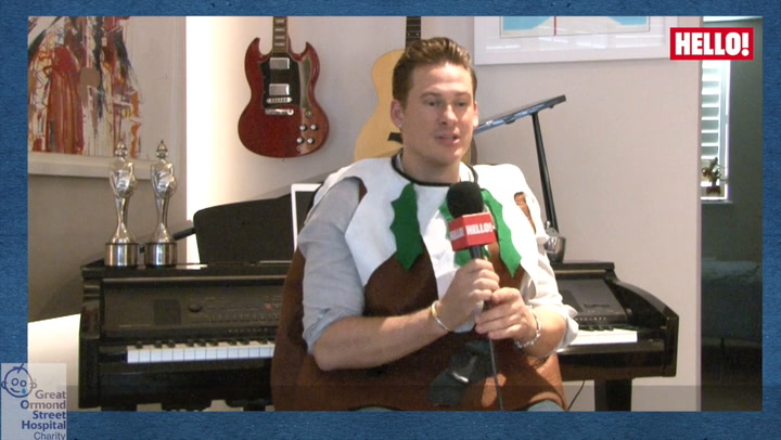Lee Ryan shares his favourite Christmas memories as he becomes HELLO!'s Christmas Pudding for Great Ormond Street