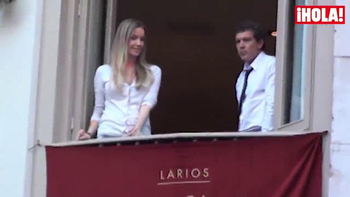 Antonio Banderas disfruta de una Semana Santa diferente con su novia y el hijo de Melanie
