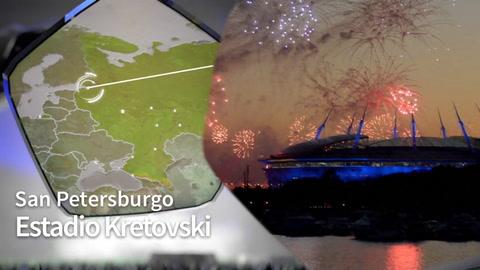 Estadio Kretovski - San Petersburgo Rusia 2018