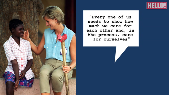 Watch Princess Diana\'s most heartwarming quotes