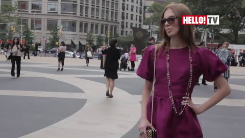 HELLO! goes behind the scenes at New York Fashion Week