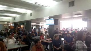 Preocupación: Nerviosismo en viajeros del Aeropuerto Toncontín
