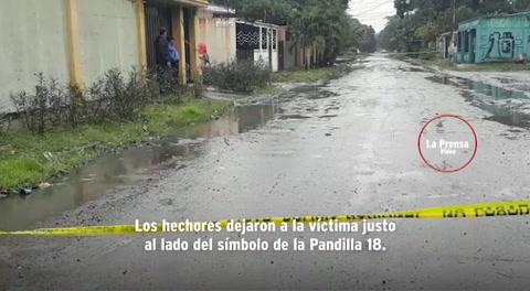 Estrangulan con un lazo a un hombre en San Pedro Sula