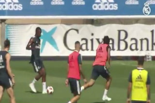 Exquisita definición de Vinicius que asombró a la plantilla del Real Madrid