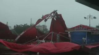 Tifón causa graves daños en Taiwán