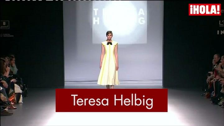 Fashion Week Madrid Otoño-Invierno 2015-16 : Teresa Helbig