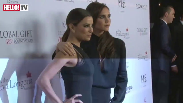 Victoria Beckham and Eva Longoria hit red carpet together