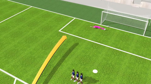 Los tiros libres en el fútbol