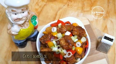 Cocinando con Mayte: Cerdo agridulce