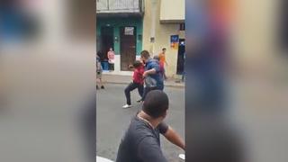 Capturan y linchan a ladrón aprovechándose en las protestas