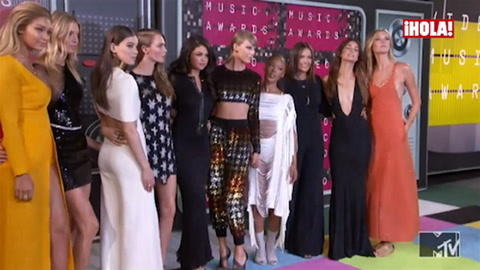 Los premios MTV Video, una extravagante pasarela de estrellas