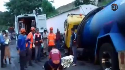 Menor de 15 años muere en fatal accidente en la salida al sur de la capital