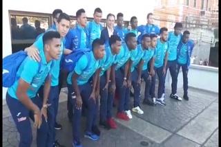 Fenafuth rinde homenaje a la seleccón sub-21 de Honduras tras ganar medalla de oro