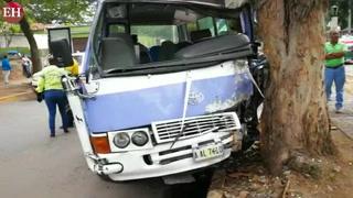 Accidente de rapidito deja varios heridos en bulevar Los Próceres