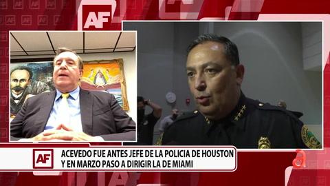 El comisionado Joe Carollo nos habla del debate en la ciudad de Miami sobre el jefe de la policía, Art Acevedo