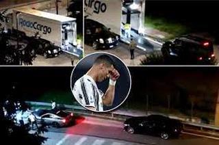 ¿Adiós a la Juventus? Cristiano Ronaldo se lleva su tremenda flota de autos de Turín a media noche