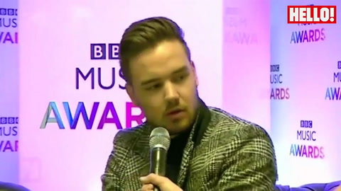 One Direction, Ed Sheeran and Calvin Harris attend the BBC Music Awards