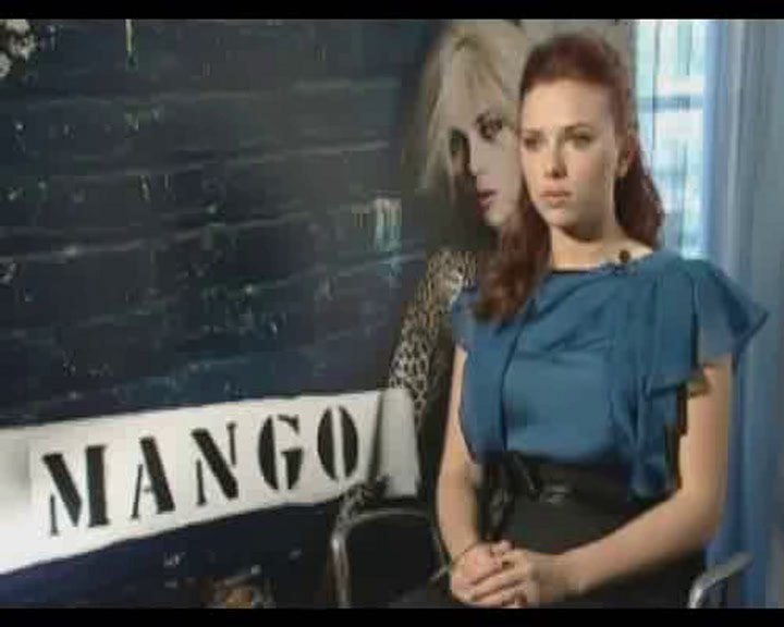 Interview with Scarlett Johansson
