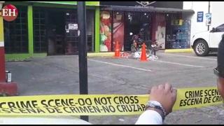 Asaltante muere tras intentar robar una tienda en la capital